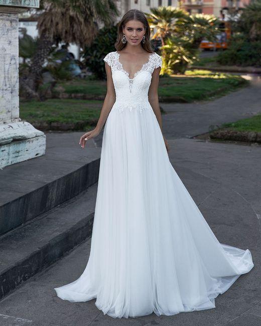 Quale modello di abito da sposa indosseresti con scioltezza? 2