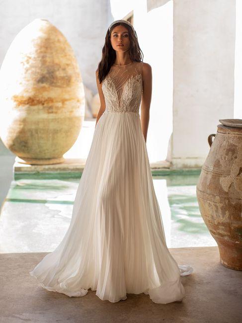 Quale modello di abito da sposa indosseresti con scioltezza? 3