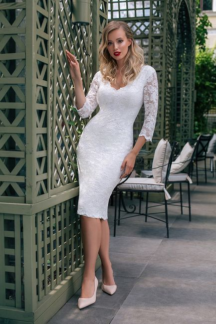 Quale modello di abito da sposa indosseresti con scioltezza? 4