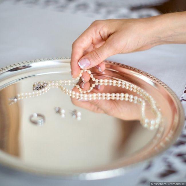 Il gioiello che indossereste indubbiamente per il vostro look sposa 1