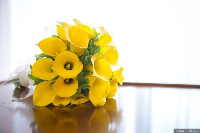 Bouquet sposa: bianco, colorato o... 3