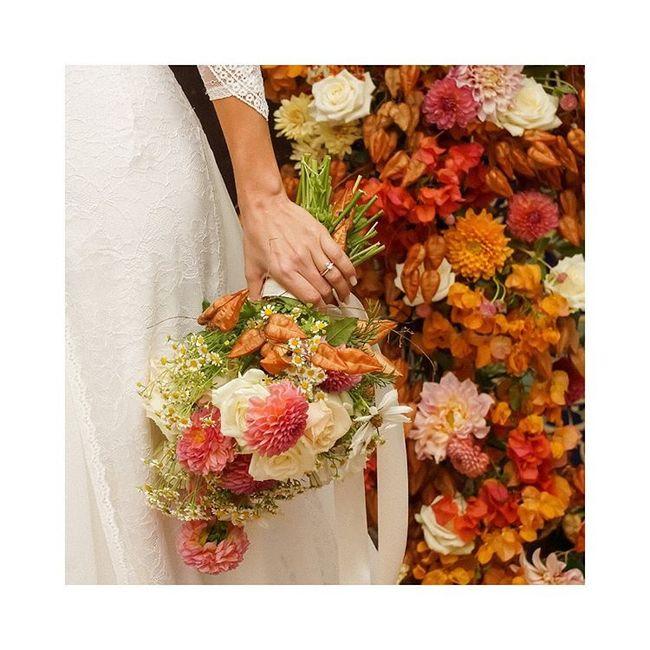 Il bouquet sposa di Olivia June: lo copieresti? 1