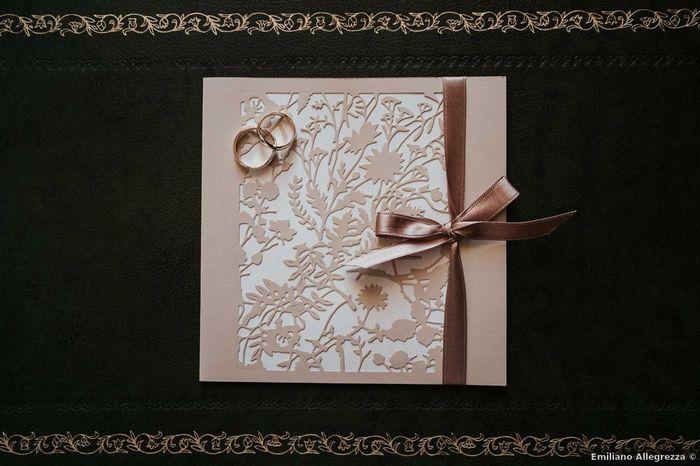In che modo chiuderete le partecipazioni di nozze? 3