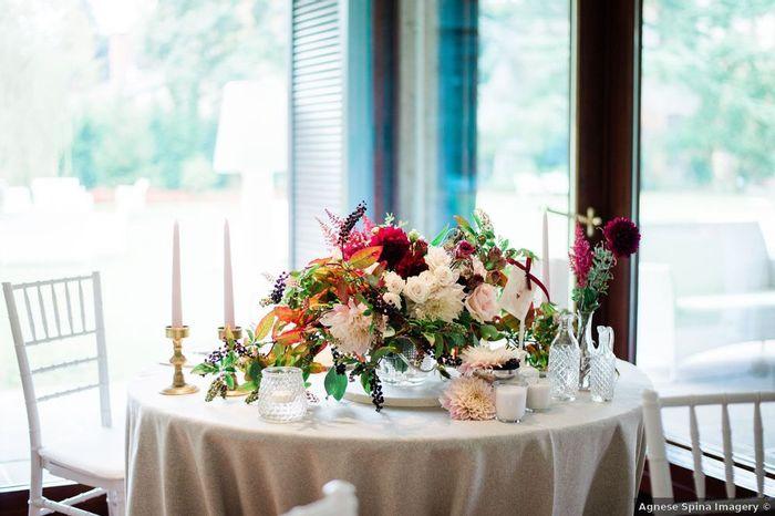 La stagione di queste decorazioni floreali è... 1