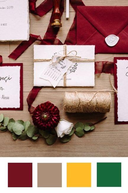 Quale colore è più adatto alle tue nozze? 1