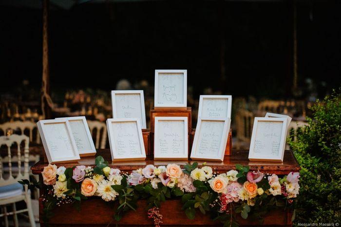 Tableau de mariage: ✔️o ❌? 1