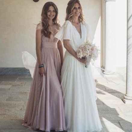 La sposa Filippa Lagerback e sua figlia in Enzo Miccio