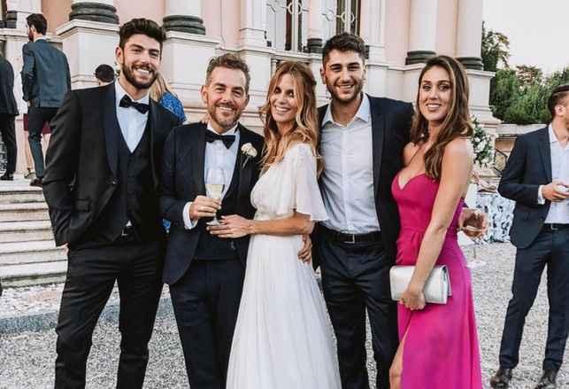 Gli invitati al matrimonio