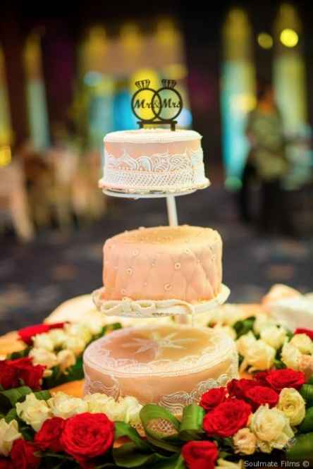 F - Torta nuziale