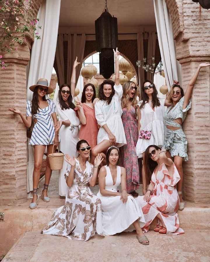 L'addio al nubilato di Paola a Marrakech