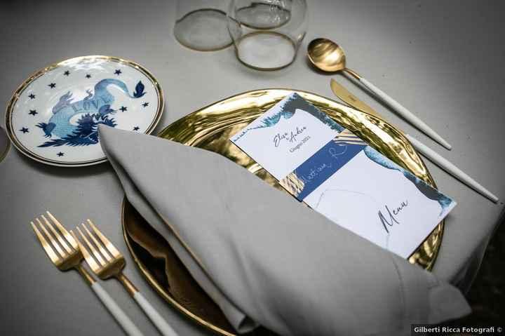 10 combinazioni possibili per presentare il menù di nozze - 6