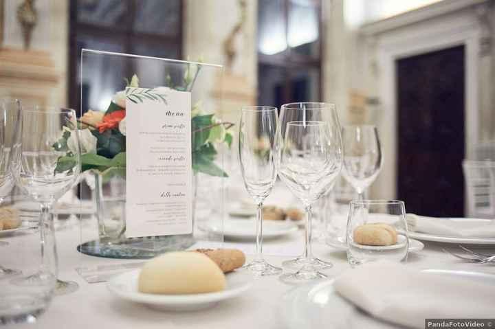 10 combinazioni possibili per presentare il menù di nozze - 9