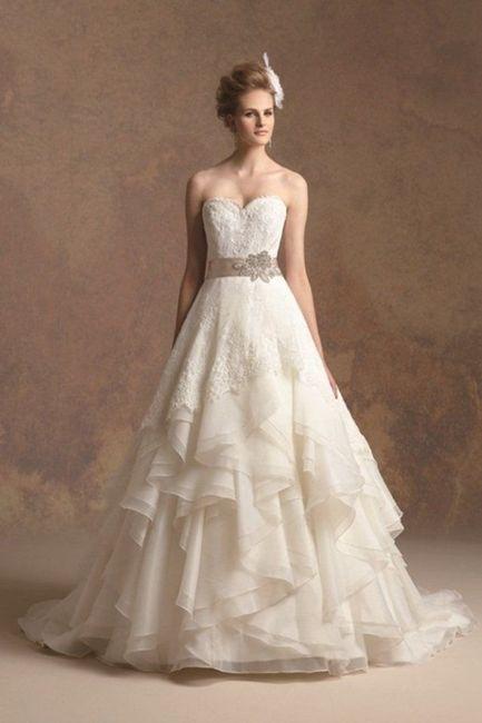 Vestito Matrimonio Rustico : Vestiti da sposa in stile shabby chic moda nozze