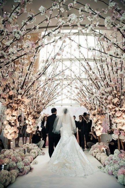 Decorazioni bianche per un matrimonio elegante - Foto Organizzazione ...