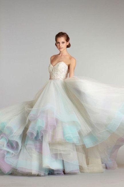 Vestito Nozze Da Sposa Moda Colorato Forum rqrIwBCn