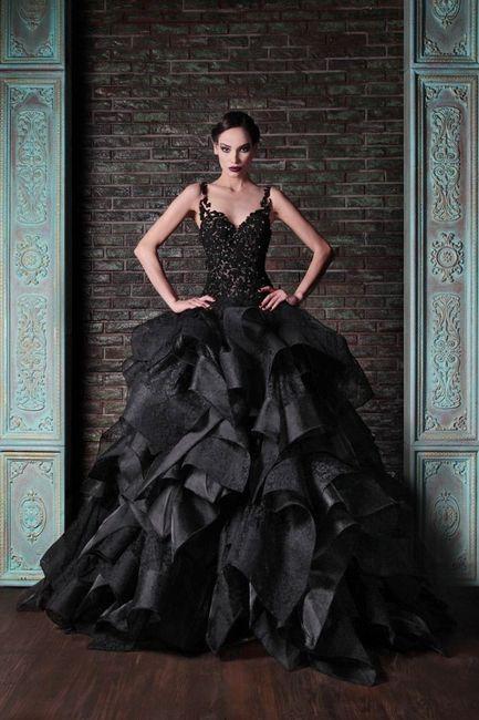Matrimonio In Nero : Vestiti da sposa di colore nero moda nozze forum matrimonio.com
