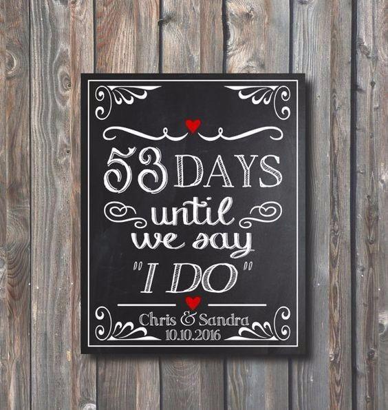 Giorni che mancano al matrimonio