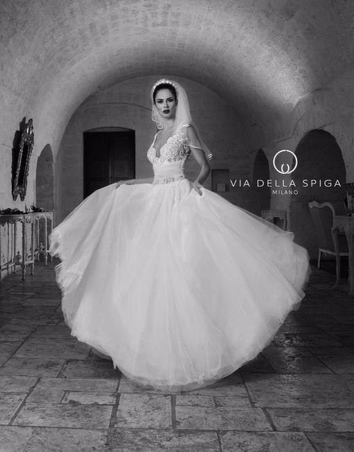 Via della spiga abiti da sposa 2017