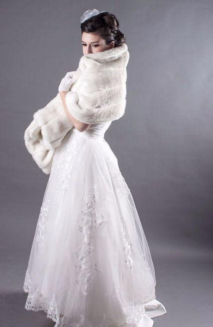 acquista autentico elegante nello stile a disposizione Per le spose invernali: pellicce da sposa - Moda nozze ...