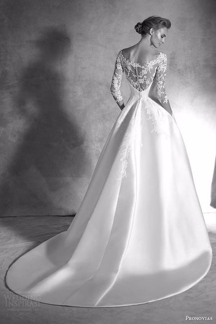 4789a59d131d5 Abito da sposa in seta Mikado - Moda nozze - Forum Matrimonio.com