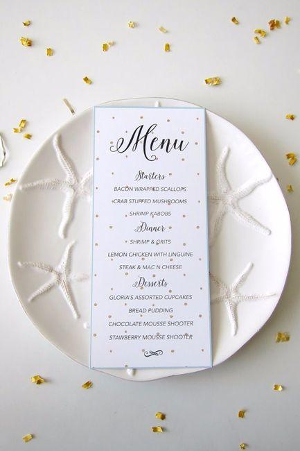 Cosa non può mancare nel vostro menù di matrimonio? - Ricevimento di ...