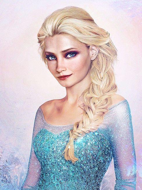 Elsa di Frozen
