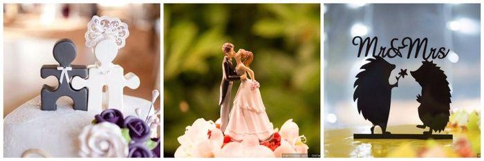 Scopri il colore delle tue nozze... Il cake topper 2