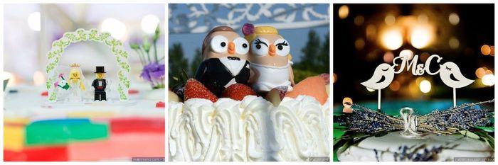 Scopri il colore delle tue nozze... Il cake topper 3