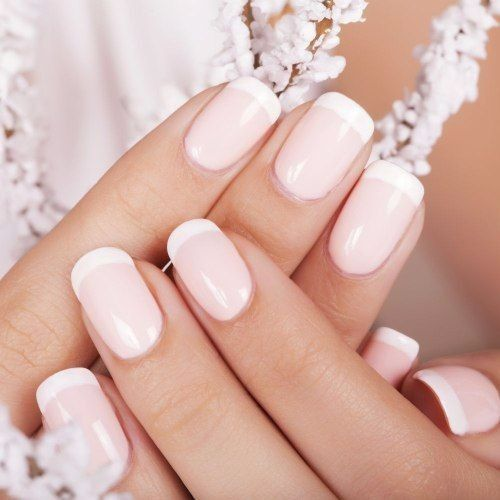 1) French Manicure