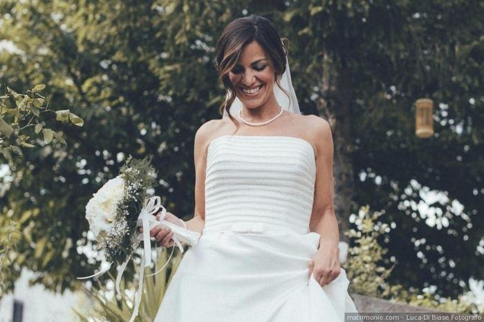 B) Acconciatura da sposa