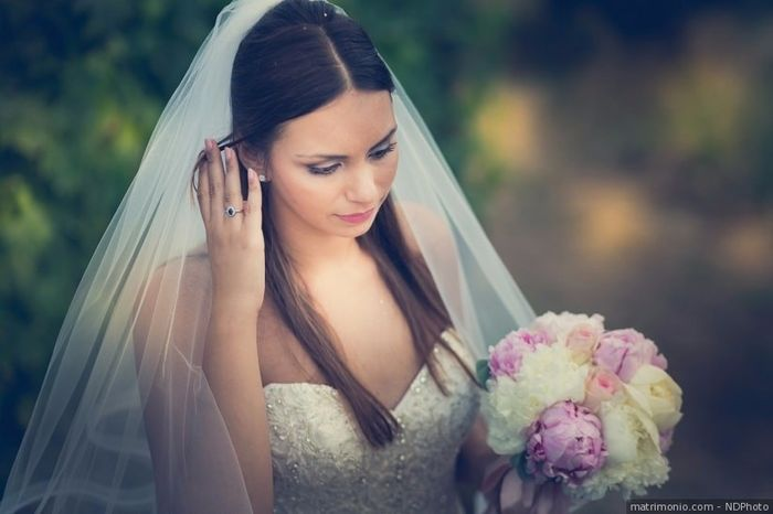 D) Acconciatura da sposa