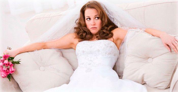 Sposa stressata