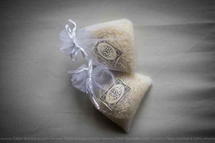 Per inporta confetti/riso - 1