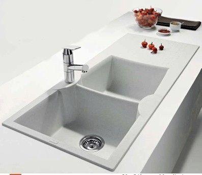 Lavelli da cucina in materiali diversi vivere insieme - Lavandino cucina fragranite ...