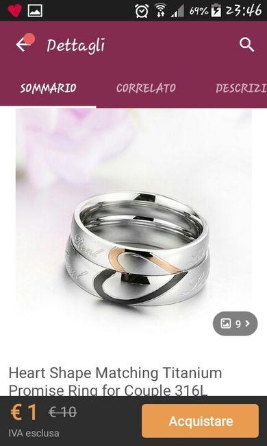 Fede + anello di fidanzamento - 1