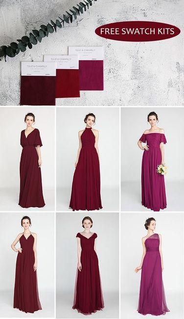 abb57340f81b vestiti sito tulle and chantilly Vestito damigelle modello diverso ma  stesso colore 1