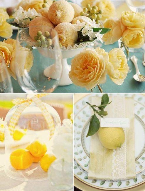 Ispirazioni per matrimonio a tema limone 🍋 2