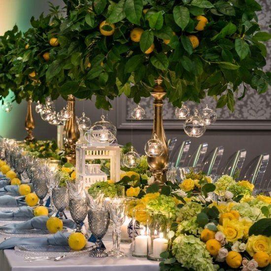 Ispirazioni per matrimonio a tema limone 🍋 6