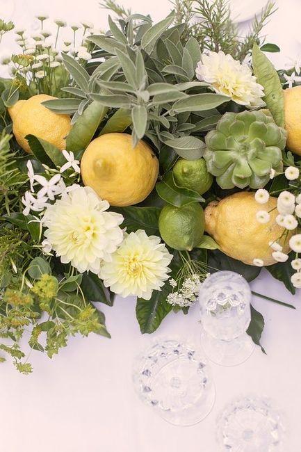 Ispirazioni per matrimonio a tema limone 🍋 9