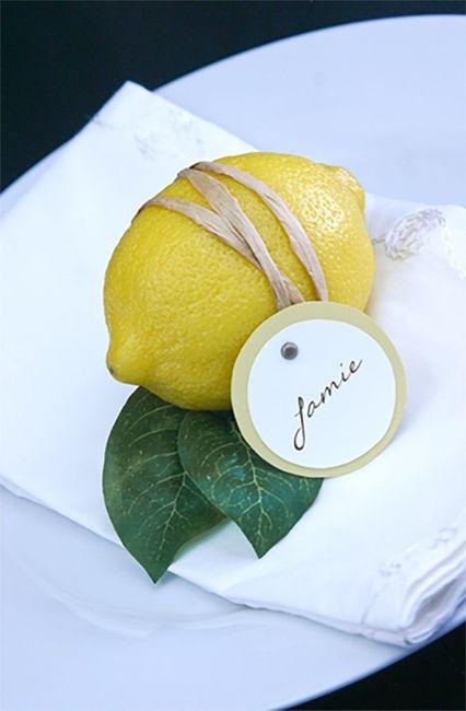 Ispirazioni per matrimonio a tema limone 🍋 11