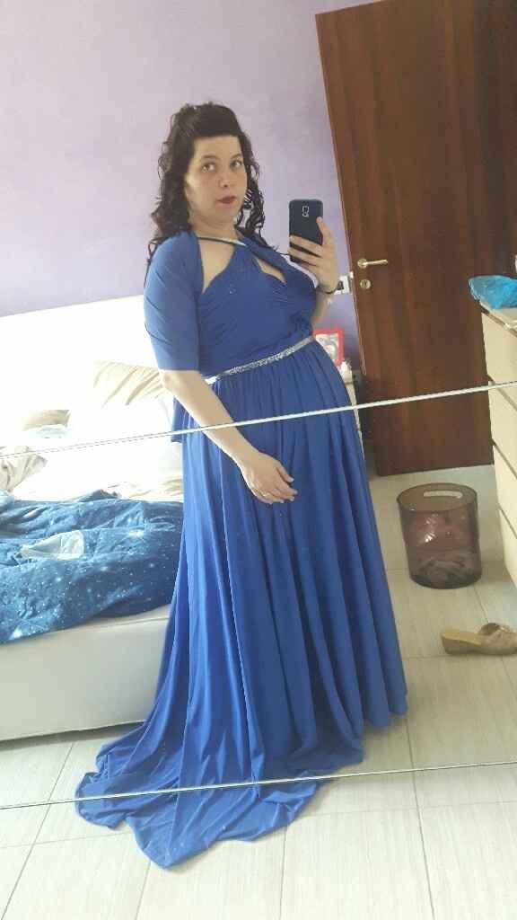 Aiuto....vestito testimone incinta - 2