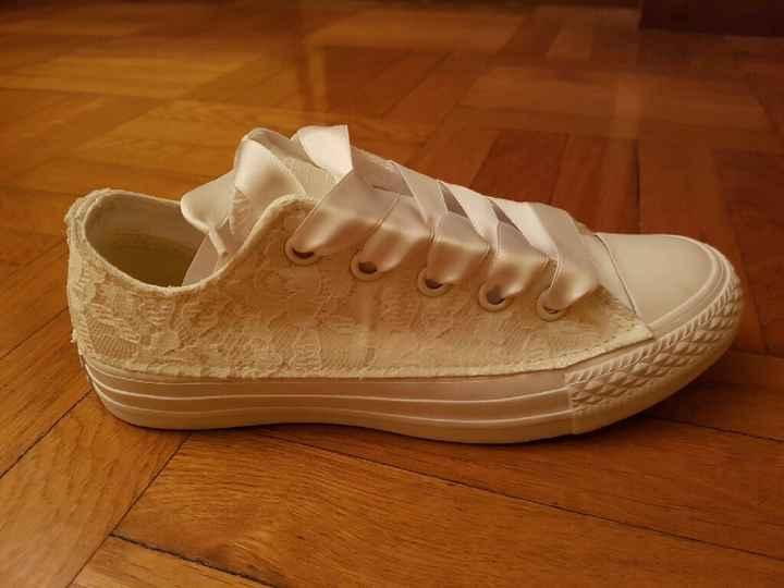 Cambio scarpe converse - 1