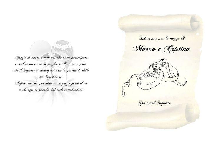 Top Libretto messa fai da te - Fai da te - Forum Matrimonio.com ZS76