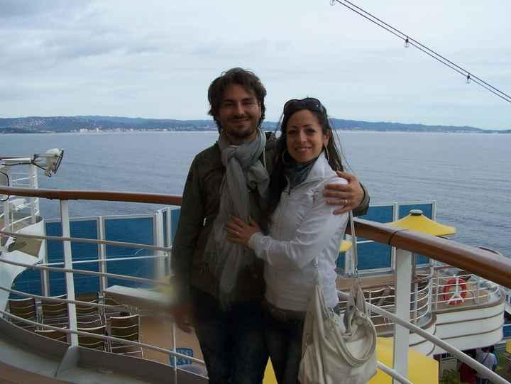 Noi sulla nave da crociera