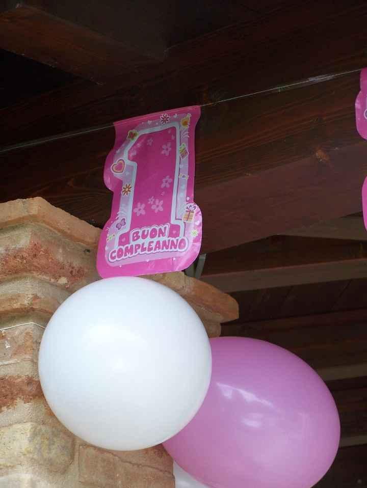 Il primo compleanno di Martina