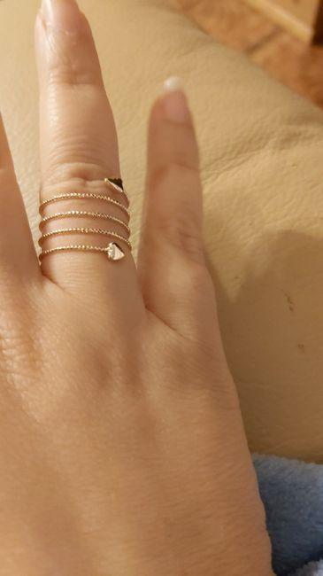 Che tipo di anello hai ricevuto alla proposta? 5