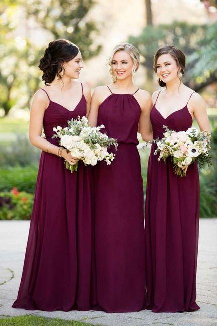 Matrimonio colorato e le damigelle?? 3