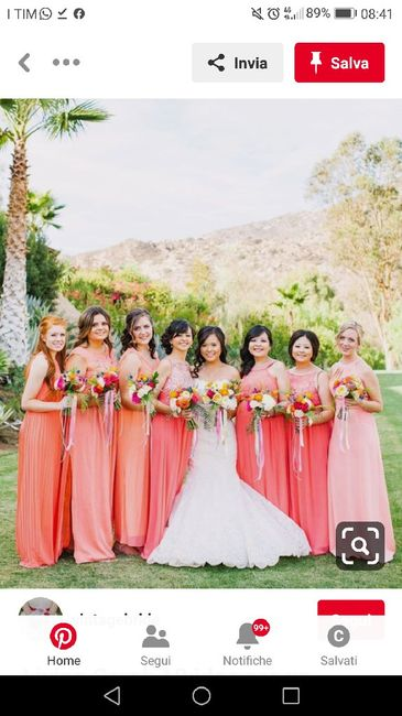 Matrimonio colorato e le damigelle?? 5