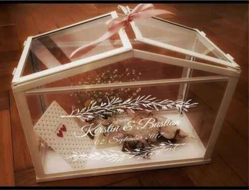 La mia wedding card box - 1