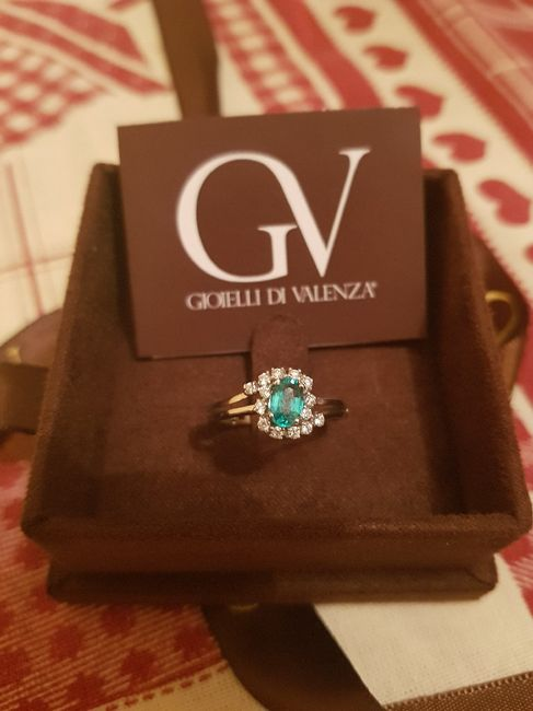 Che tipo di anello hai ricevuto alla proposta? 1